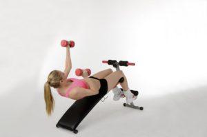Heimtrainer für Bauch,Beine und Po